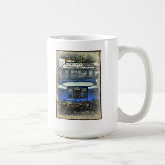 Alte Land-Vagabunden die nie Kaffeetasse