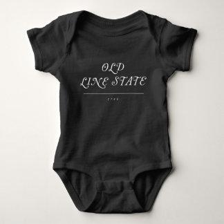 Alte Linie Staats-Kleinkind/Baby-Shirt Baby Strampler