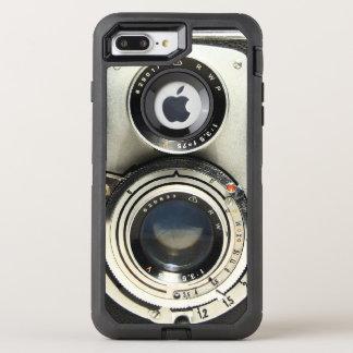 Alte Mode-Kamera-stilvoller Vintager Blick OtterBox Defender iPhone 8 Plus/7 Plus Hülle