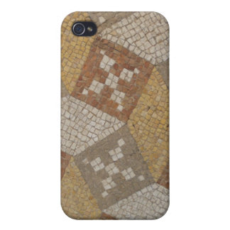 Alte Mosaikfußboden-Fliesen-römische Ruinen iPhone 4 Schutzhülle