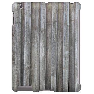 Alte Plankenscheunenwand iPad Hülle