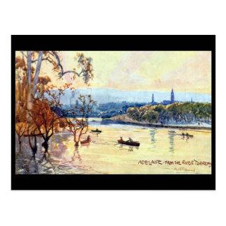 Alte Postkarte - Adelaide, Südaustralien
