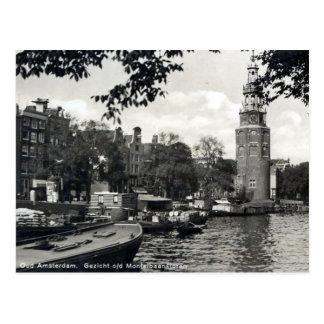 Alte Postkarte, Amsterdam Postkarte