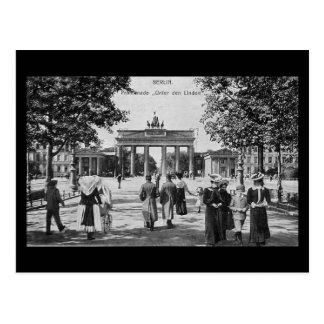 Alte Postkarte, Berlin, Unter Höhle Linden Postkarte