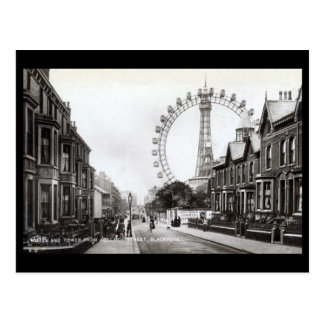 Alte Postkarte - Blackpool, Lancashire