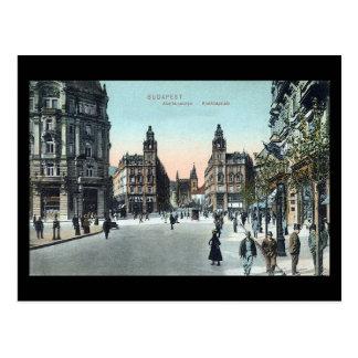 Alte Postkarte - Budapest, Ungarn, 1908