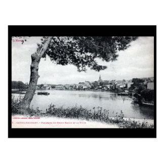 Alte Postkarte - Castelnaudary, Aude, Frankreich