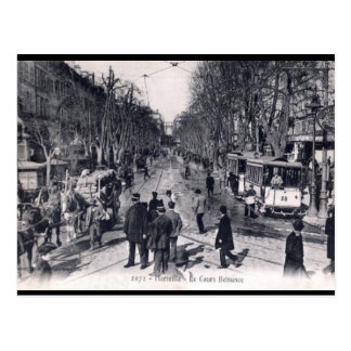 Alte Postkarte - Cours Belsunce, Marseille