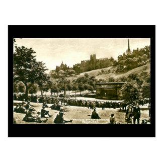 Alte Postkarte, Edinburgh, Prinzen St Gardens Postkarten