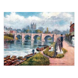 Alte Postkarte - Hereford