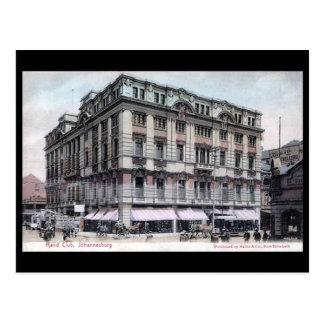 Alte Postkarte - Johannesburg, der Rand-Verein
