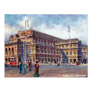 Alte Postkarte - K K Hofoper, Wien
