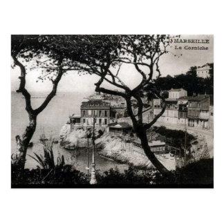 Alte Postkarte - La Corniche, Marseille