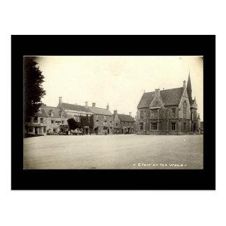 Alte Postkarte, Laderaum-auf-d-Wold Postkarte