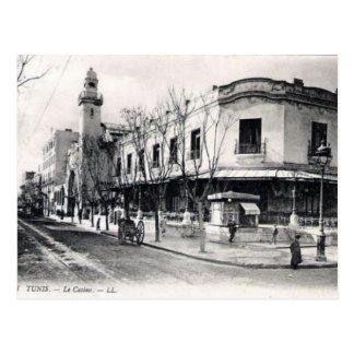 Alte Postkarte - Le Casino, Tunis
