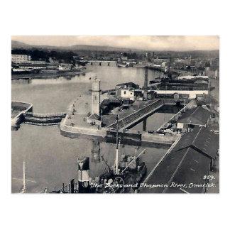 Alte Postkarte - Limerick, Irland