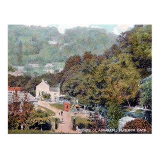 Alte Postkarte - Matlock-Bad, Derbyshire
