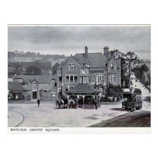 Alte Postkarte - Matlock, Derbyshire