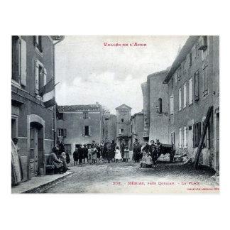 Alte Postkarte - Nébias, Aude, Frankreich