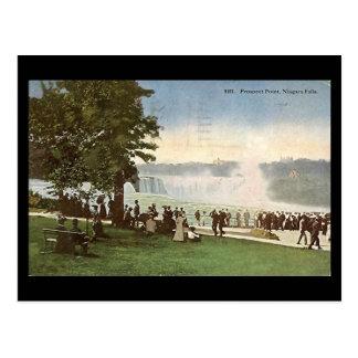 Alte Postkarte - Niagara Falls, Aussicht-Punkt