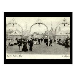 Alte Postkarte - Palast-Pier, Brighton