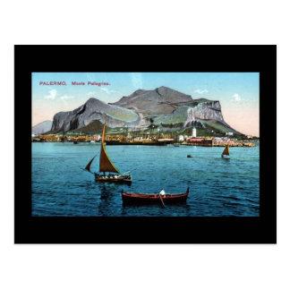 Alte Postkarte - Palermo, Sizilien