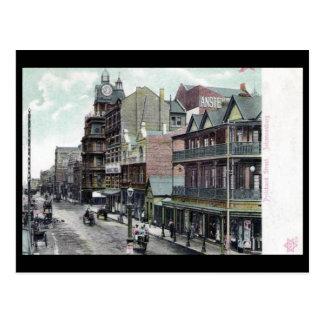 Alte Postkarte - Pritchard St., Johannesburg