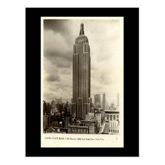 Alte Postkarte, Reich-Staats-Gebäude, New York Postkarte