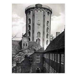 Alte Postkarte - Rundetaarn, Kopenhagen