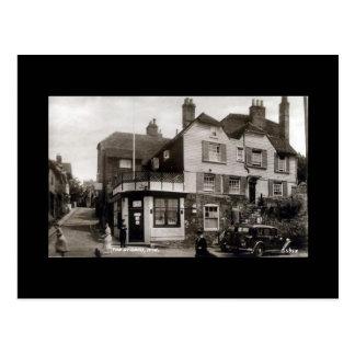 Alte Postkarte, Rye, Sussex Postkarten