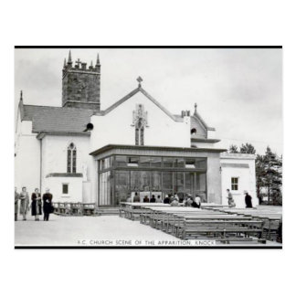 Alte Postkarte - Schlag, Co Mayo, Irland