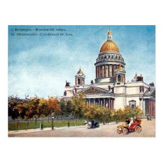 Alte Postkarte - St Petersburg, Russland