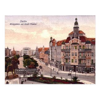Alte Postkarte - Szczecin, Polen