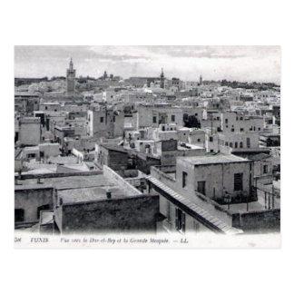 Alte Postkarte - Tunis