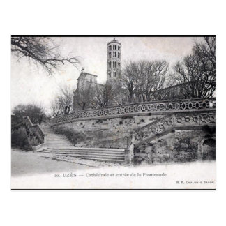 Alte Postkarte - Uzès, Gard, Frankreich