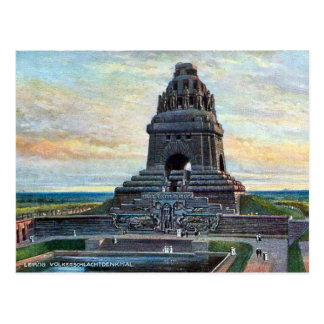 Alte Postkarte - Völkerschlachtdenkmal, Leipzig