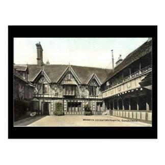 Alte Postkarte, Warwick, Leycester Krankenhaus Postkarte