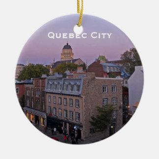 Alte Quebec-Stadtbild-Verzierung Keramik Ornament