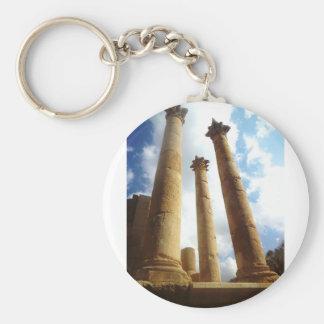 Alte römische Spalten Schlüsselanhänger