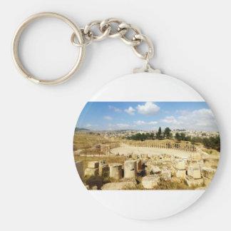 Alte römische Stadt Jerash Schlüsselanhänger