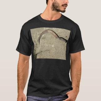 Alte rostige Sichel T-Shirt