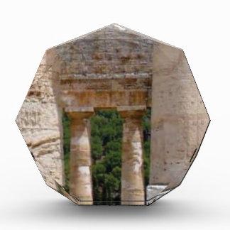 alte Ruinen des Steins Acryl Auszeichnung