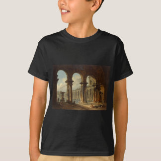 Alte Ruinen verwendet als allgemeine Bäder Hubert T-Shirt
