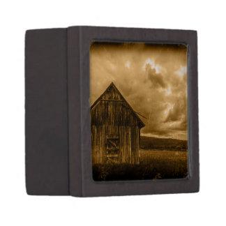 alte Scheune des rustikalen Kiste