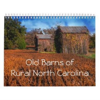 Alte Scheunen des ländlichen North Kalender