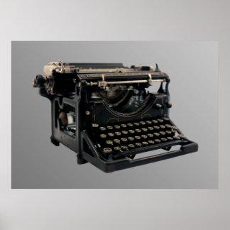 alte schreibmaschine poster alte schreibmaschine drucke kunstdrucke. Black Bedroom Furniture Sets. Home Design Ideas