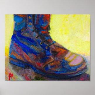 Alte Schuhe Poster
