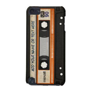 Alte Schul80er DJ-Musik-Kassetten-Band-Muster iPod Touch 5G Hülle