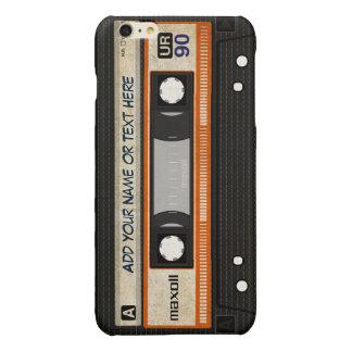Alte Schul80er DJ-Musik-Kassetten-Band-Muster