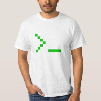 Alte Schulcomputer-Texteingabe-Aufforderung T-Shirt